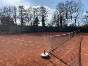 Endlich wieder Tennis spielen!!